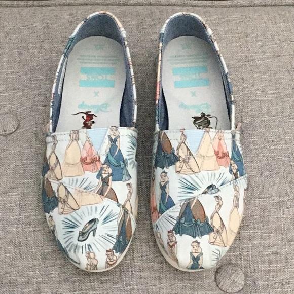 Toms Shoes   Disney Cinderella Toms